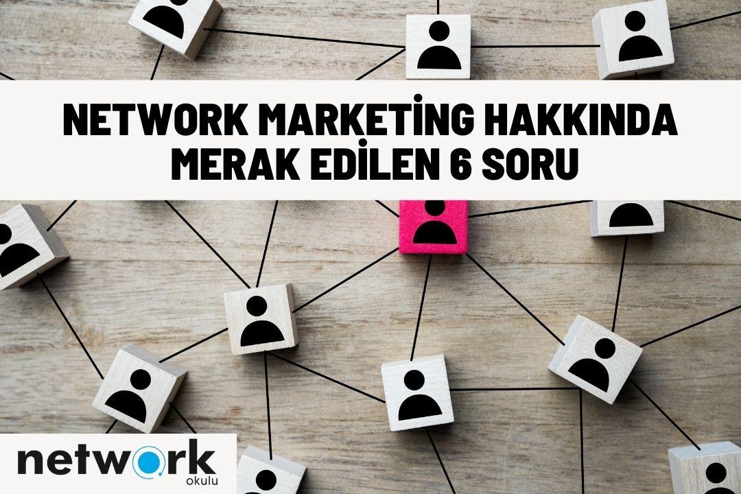 Network marketing ne demek