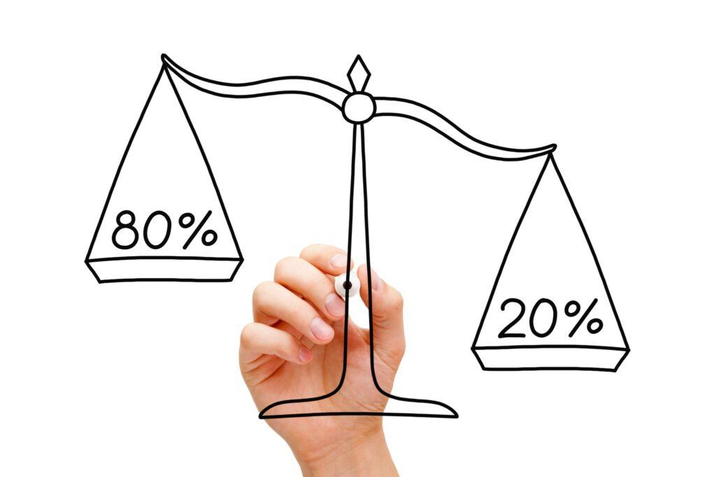 Network marketinge gelince, network marketingde de 20/80 kuralı diye şey var.
