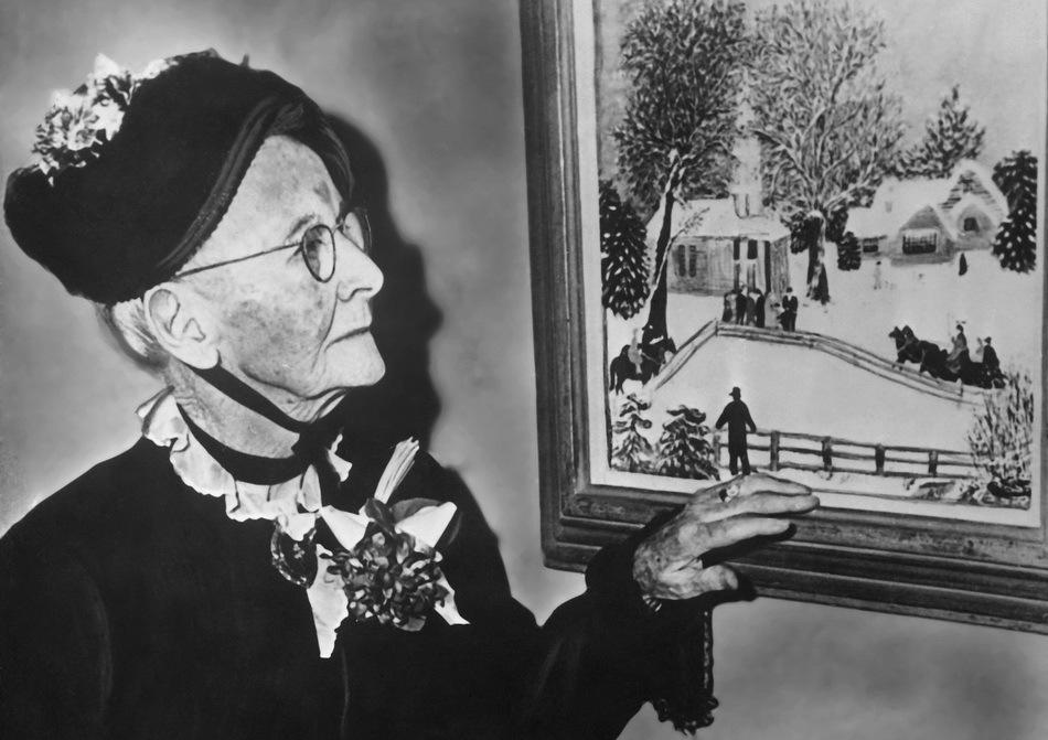 Anna Robertson, gençliğinden beri sanatla ilgilenirdi. Fakat birkaç nedenden ötürü peşinden gidemedi
