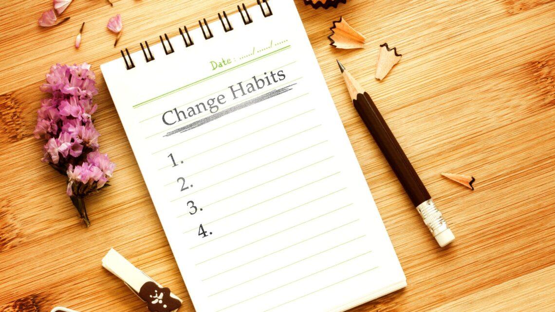 Yararlı Alışkanlıklar - Bunu yaparak, yapması kolay küçük, basit alışkanlıkları dahil ederek bugün başlayabilirsiniz.