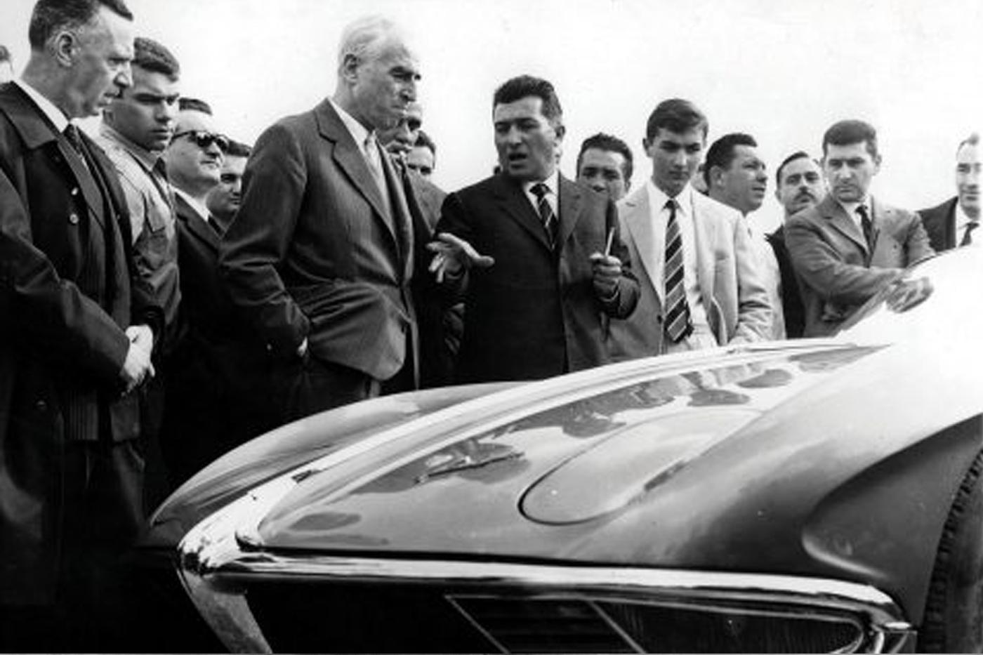 Enzo Ferrari'nin Ferruccio Lamborghini'nin önerilerine verdiği yanıt hiç de olumlu değildi
