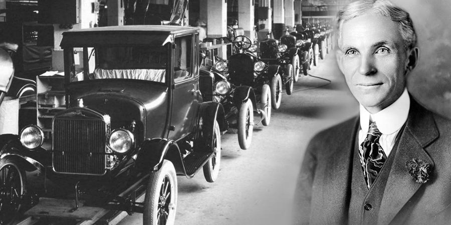 Henry Martin Ford, dünyanın gelmiş geçmiş en başarılı girişimcileri arasındadır.