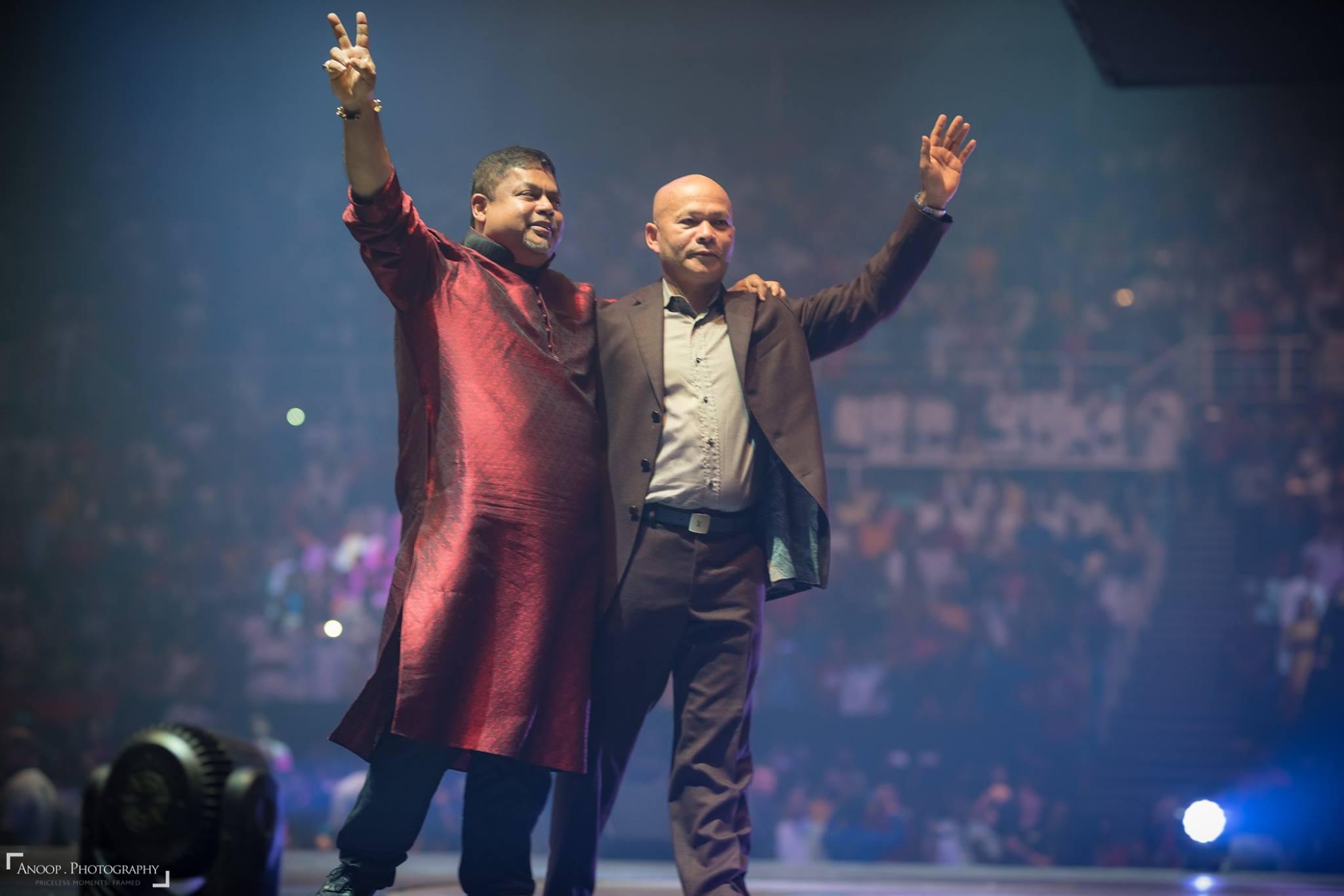 Joseph Bismark and Dato Sri Vijay Eswaran