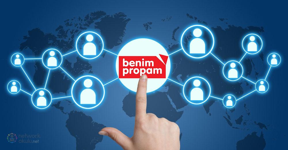 Network Marketing Firmaları Benim Propam Propa