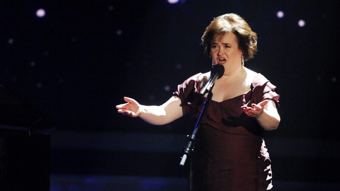 Susan Boyle Yetenek Sizsiniz Yarışmacısı