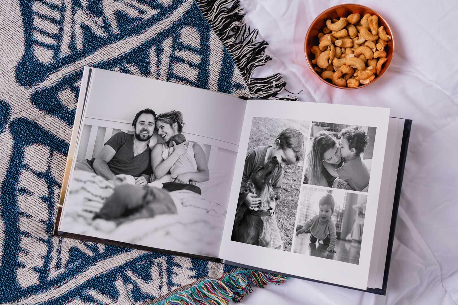Çeşitli zamanlarda çekilmiş fotoğraflarınızı seçin.