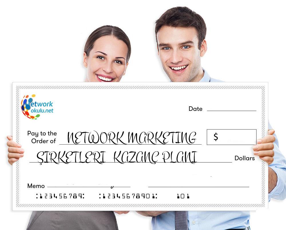 Network marketing firmalarının kazanç planları nelerdir?
