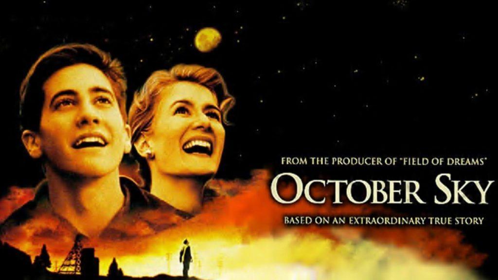 Ekim Düşü - 1999 yapımı bu film, kaderine razı gelmeyen bir madenci çocuğu olan Homer Hickam'ın bir yazar ve NASA'da mühendis olmaya uzanan hikayesini konu ediniyor.
