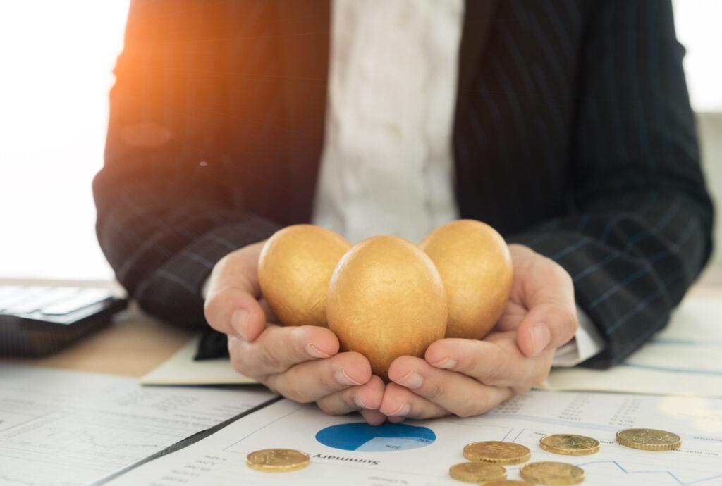 Altın Yumurta - Hedeflerinizi altın yumurta olarak düşünün.