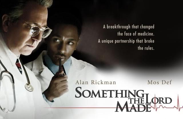 Tanrıyı Oynayanlar - Yönetmenliğini Joseph Sargent'ın yaptığı bu film, cerrah Alfred Blalock ve hademelik en asistanlığa yükselen Vivien Thomas'ın imza attıkları benzersiz bir başarıyı konu ediniyor.