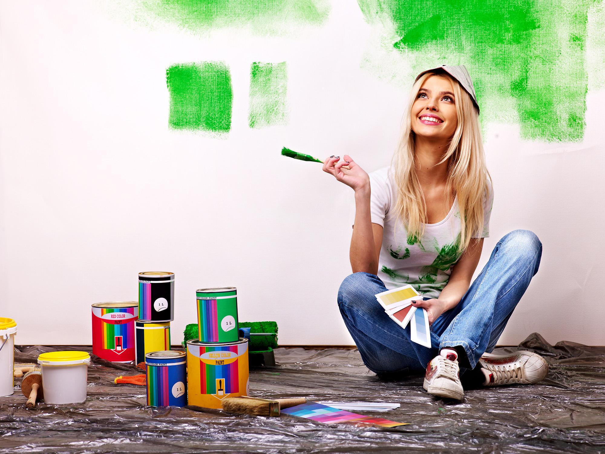 Resim çizebilir, boyama ve el sanatları ile ilgilenebilirsiniz.