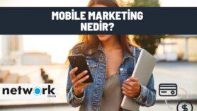 mobile marketing nedir